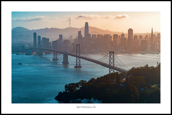San Francisco skyline Plakat