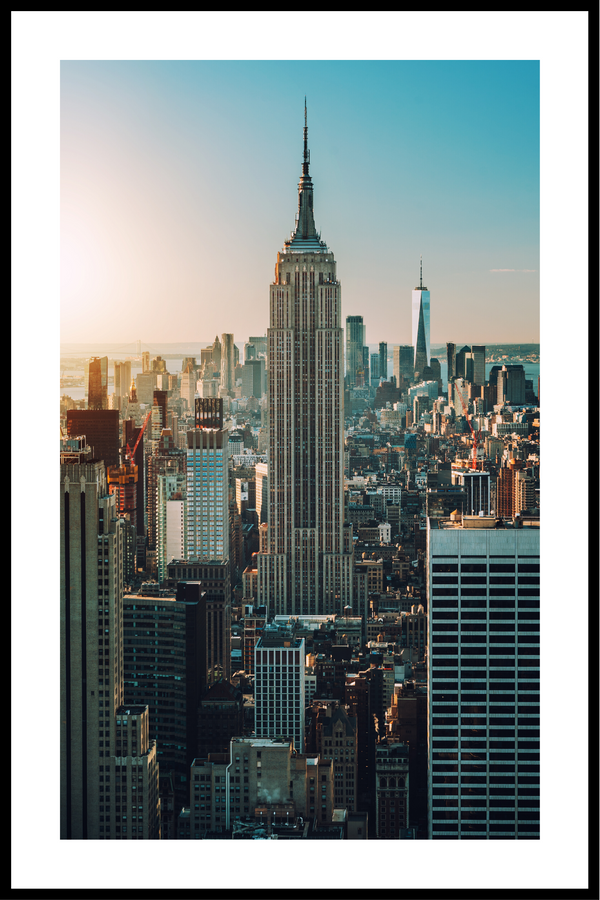 empire state plakat