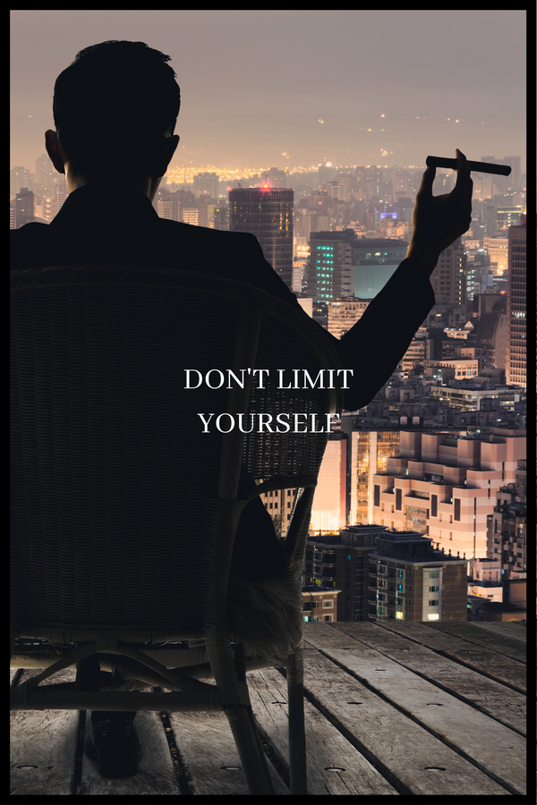 Don't limit yourself plakat