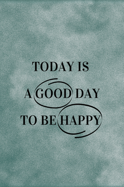 A good day plakat