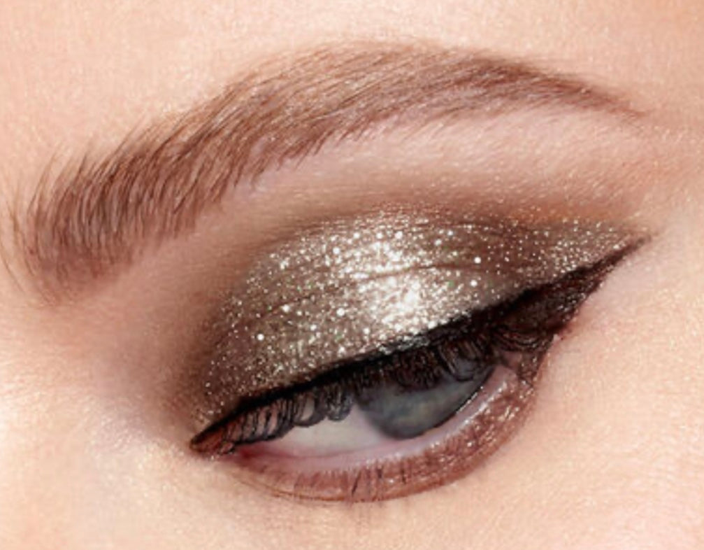 Stila - Liquid eye glittery shadow in Smoky Storm