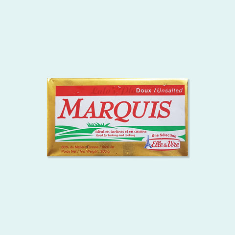 Marquis Unsalted Butter 200g