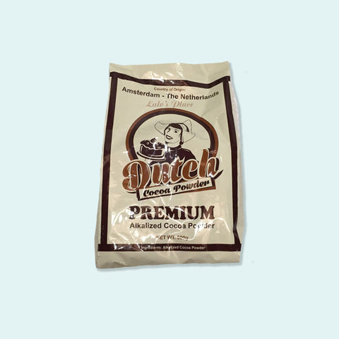 Dutch Premium Alkalized Cocoa Powder 500g