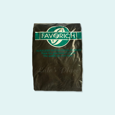 Favorich Black Cocoa Powder 500g