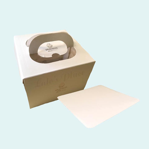 "10″ x 10″ x 6"" 1pc Box w/ Board"