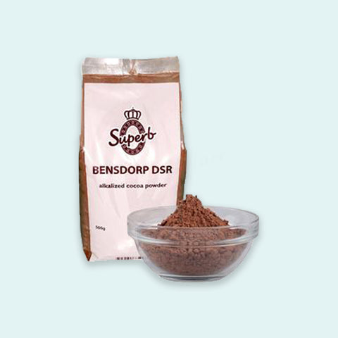 Superb Bensdorp DSR Alkalized Cocoa Powder 500g