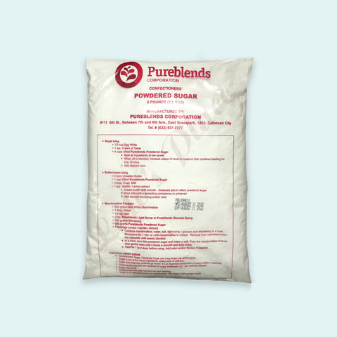 Pureblends Confectioners' Powdered Sugar 5lbs