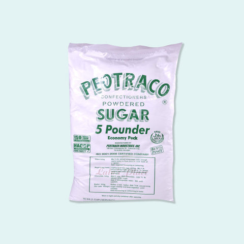 Peotraco Confectioners' Powdered Sugar 5lbs