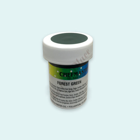 Forest Green Chefmaster Gel Paste 1oz