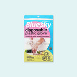 Bluesky Disposable Plastic Gloves 100pcs