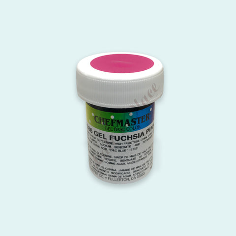 Fuschia Pink Chefmaster Gel Paste 1oz