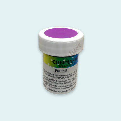 Purple Chefmaster Gel Paste 1oz