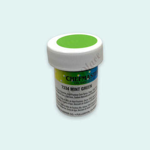 Mint Green Chefmaster Gel Paste 1oz