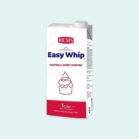 Easy Whip Topping & Sweet Starter 1L