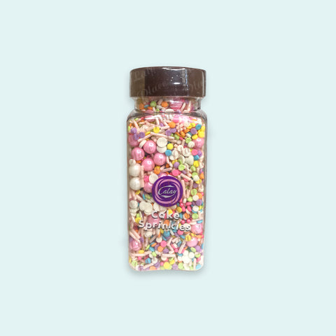 Calay Candy Assorted Cake Sprinkles 95g