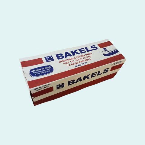 Bakels 18″ Ultra Clear Piping Bags