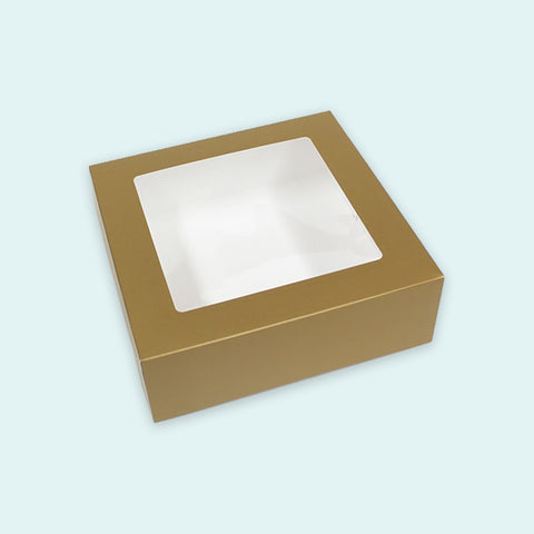 9″ x 9″ x 3″ Pre-formed Box