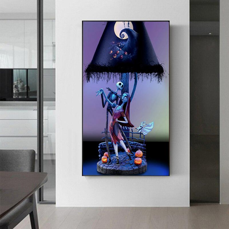 The Nightmare Before Christmas Wall Art Collection The Nightmare Before Christmas Wall Art Collection - AVAOASIS
