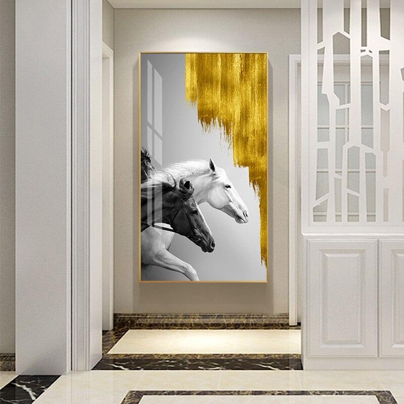 Abstract Golden Wall Art Collection Abstract Golden Wall Art Collection - AVAOASIS