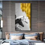 Abstract Golden Wall Art Collection Abstract Golden Wall Art Collection - AVAOASIS 40x70cm