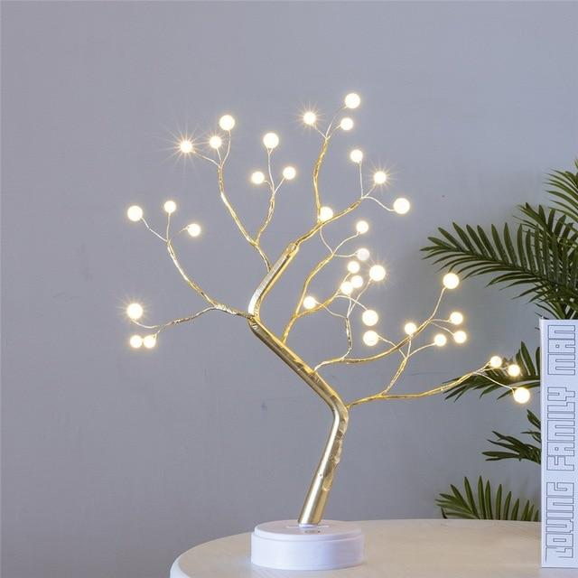 THE FAIRY LIGHT SPIRIT TREE | SPARKLY TREES™ THE FAIRY LIGHT SPIRIT TREE | SPARKLY TREES™ - AVAOASIS Warm white 36 Balls