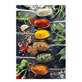 Kitchen Theme Mix Herb and Spices Canvas Painting Wall Art Kitchen Theme Mix Herb and Spices Canvas Painting Wall Art - AVAOASISCanvas 70X100cm / DM715-1