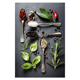 Kitchen Theme Mix Herb and Spices Canvas Painting Wall Art Kitchen Theme Mix Herb and Spices Canvas Painting Wall Art - AVAOASISCanvas 70X100cm / DM715-12