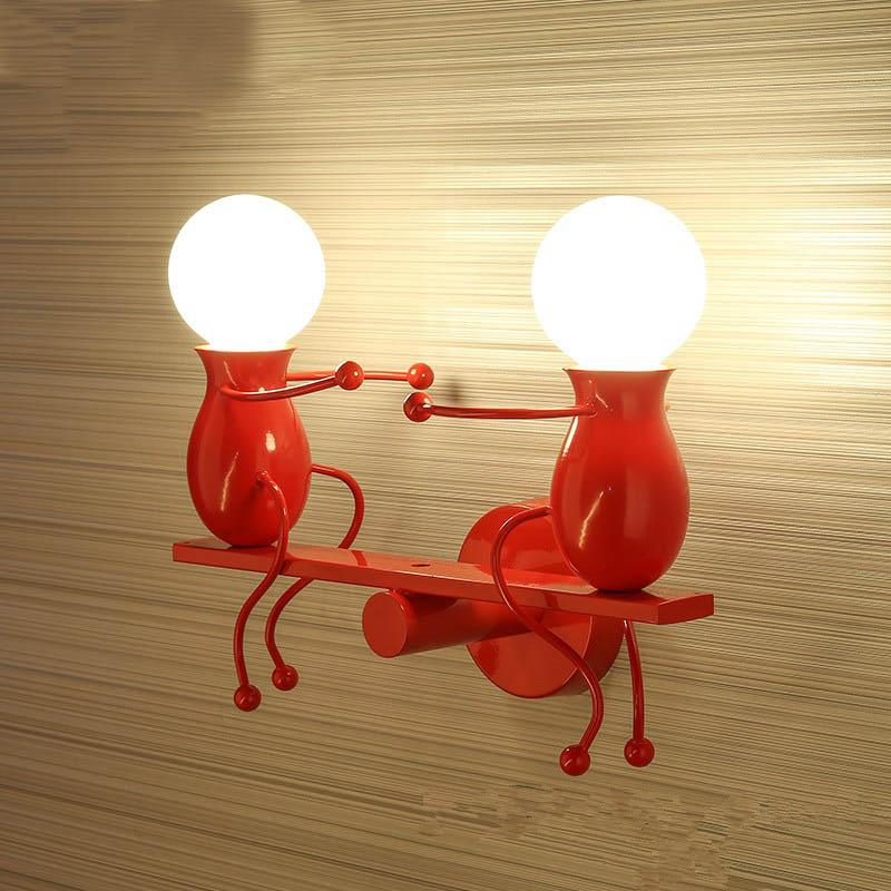 Original Humanoid Lamp Original Humanoid Lamp - AVAOASIS Seesaw / Red