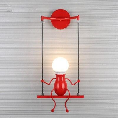 Original Humanoid Lamp Original Humanoid Lamp - AVAOASIS One Swinging / Red