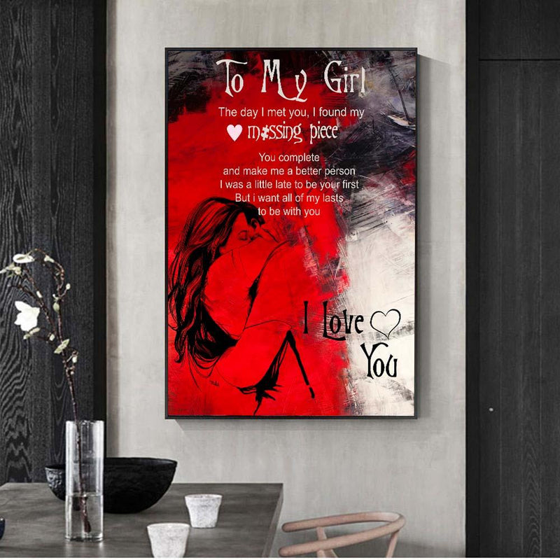 Girlfriend Canvas Wall Art Collection Girlfriend Canvas Wall Art Collection - AVAOASIS1704