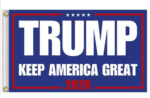 Trump Flag 2020 - Keep America Great Flag