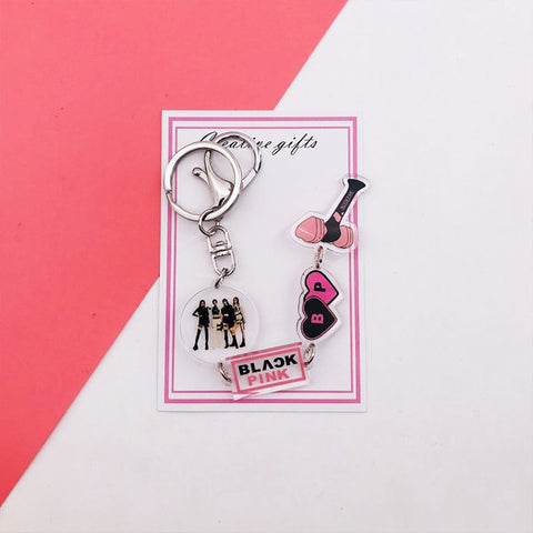 BLACKPINK Cute n Stylish Keyrings