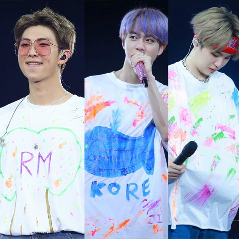 BTS 5th Muster Cute Customised Shirts