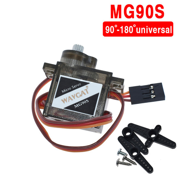 WAVGAT official Smart Electronics  Rc Mini Micro Classic servos 9g SG90 MG90S For RC Planes Fixed wing Aircraft model telecontro