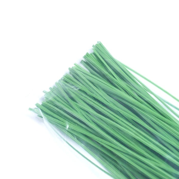100 Pcs Green Color Plant Tying support cables