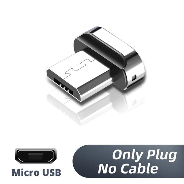 Micro USB Magnetic Cable Type C Charger for iPhone Samsung Huawei Xiaomi Quick Fast Charge 1m 2m Cord