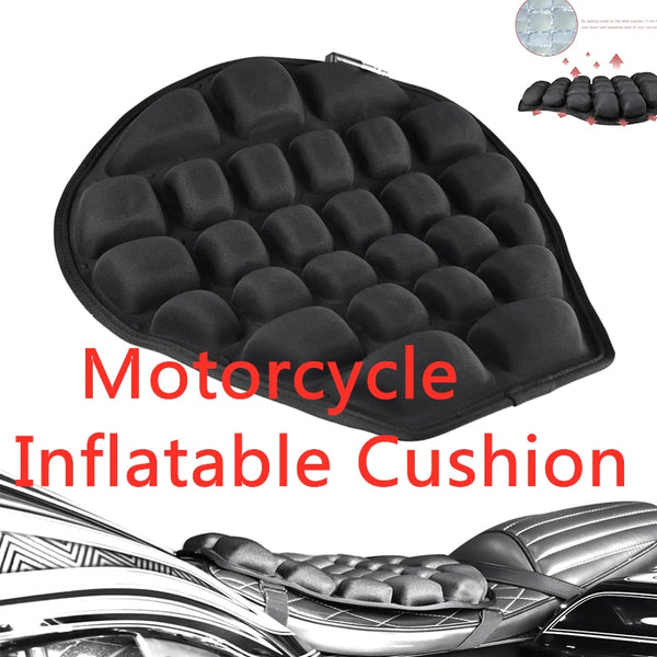 Amazing new design Motorcycle  Cushion Seat for pressure free ride ,with Water-Fillable Seat Pad for long Cruising trips