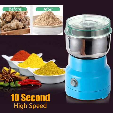 NEW Electric Grinder Mill to crush Herbs Spices Nuts Grains Coffee beans