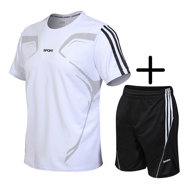 New Running Short Sleeve T Shirt Sports Wear