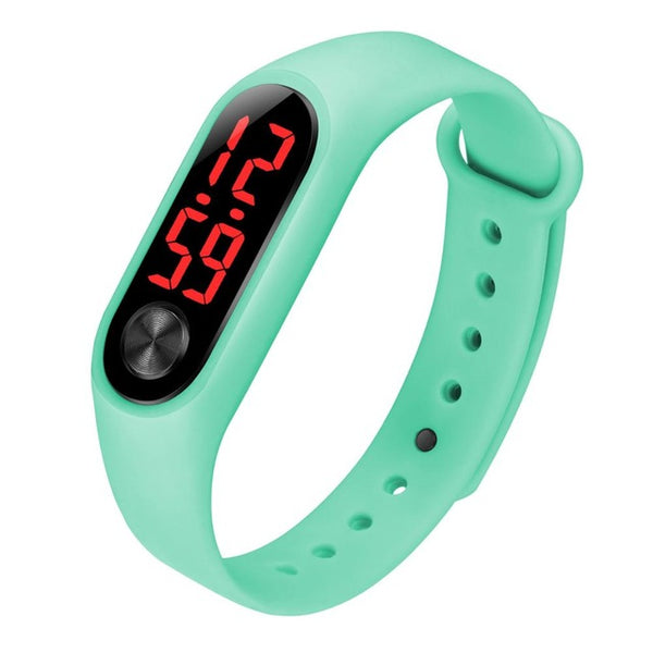 LED electronic sport watch kids watches children wristwatch
