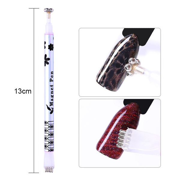 1 Pc Magnetic Pattern Gel Pen for Nails