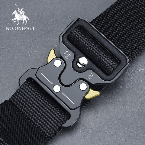 NO.ONEPAUL  Military Tactical Nylon belt High Quality