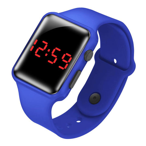 LED watch digital electronic boys girls kids watches