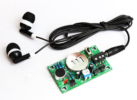 Electronic Hearing aid Audio amplification kit DIY