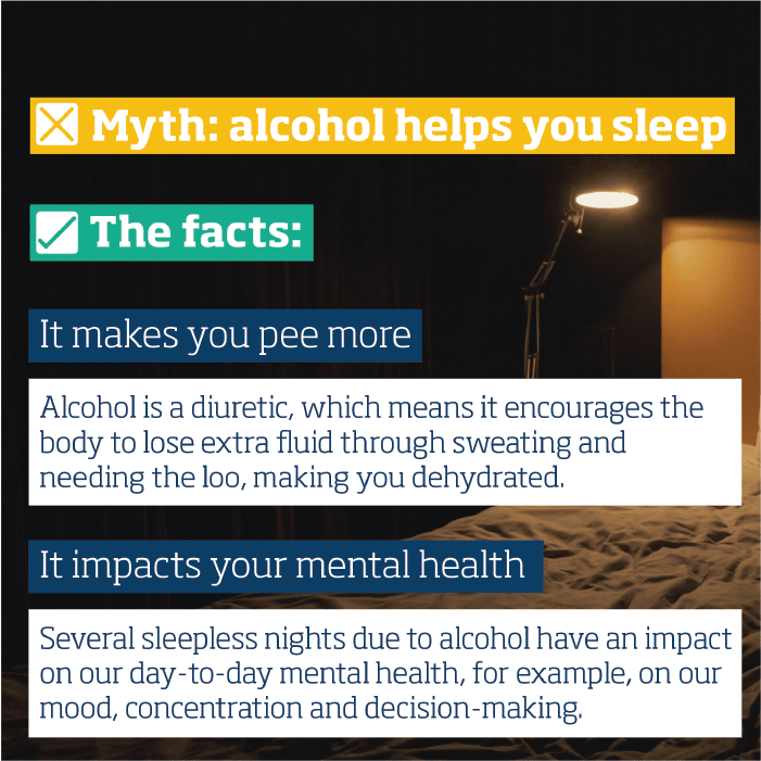 Alcohol and sleep | free social media assets