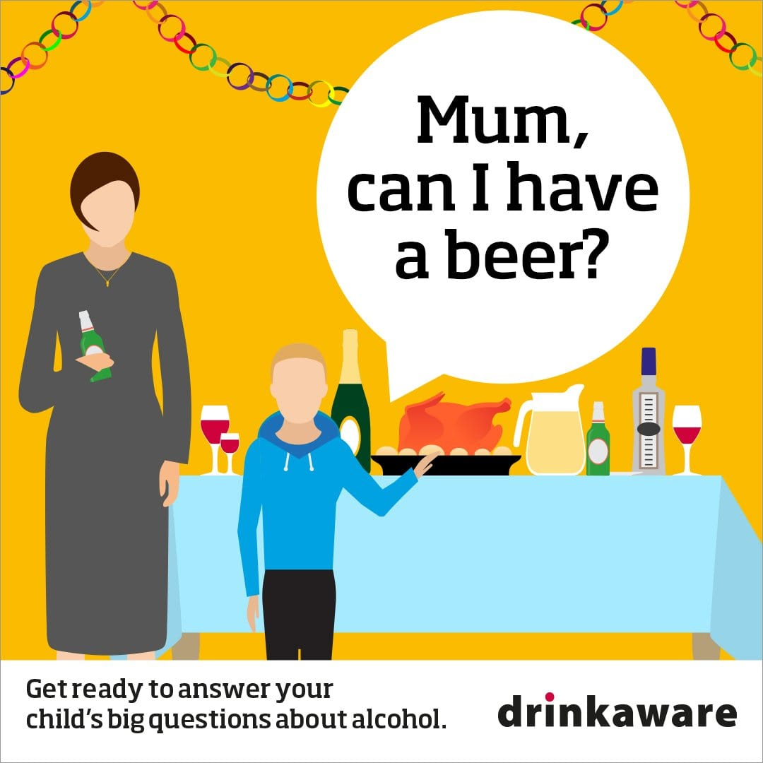 Underage beer mum Facebook