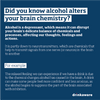 Alcohol and brain chemistry | free social media assets
