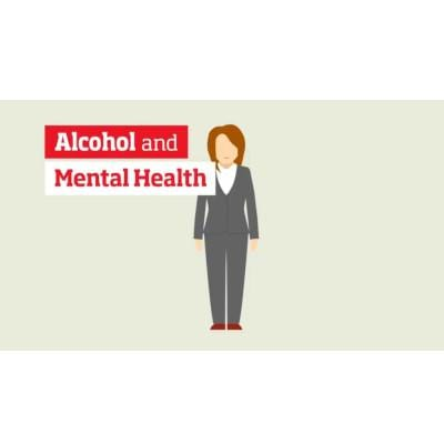 Alcohol and mental health video - female