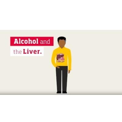 Alcohol and the liver video - male