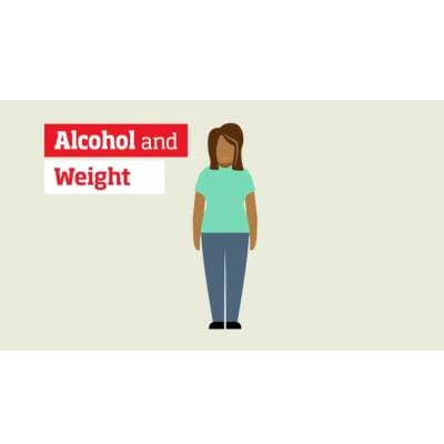 Alcohol and weight video - female